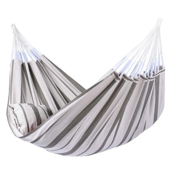 'Stripes' Silver XXL Hangmat