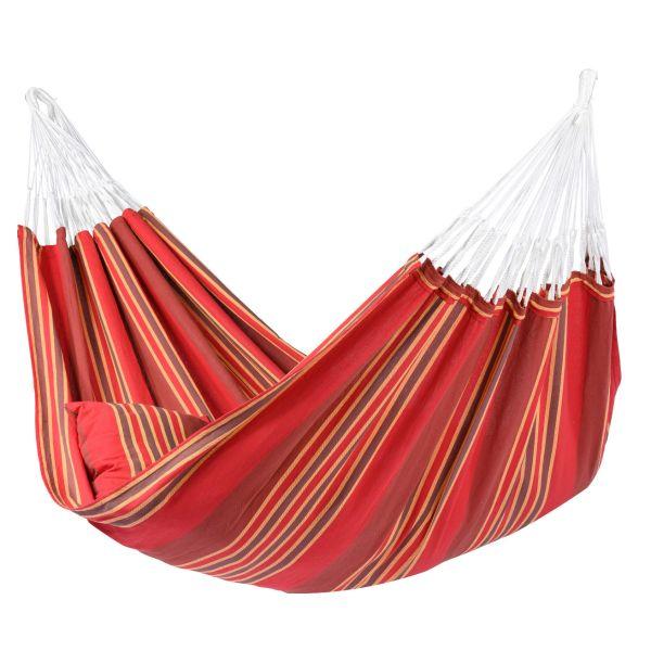 'Stripes' Terracotta XXL Hangmat