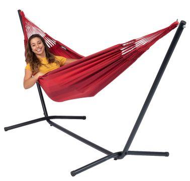 Easy & Dream Red Eénpersoons Hangmatset
