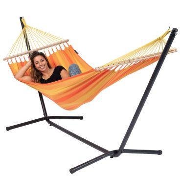 Easy & Relax Orange Eénpersoons Hangmatset