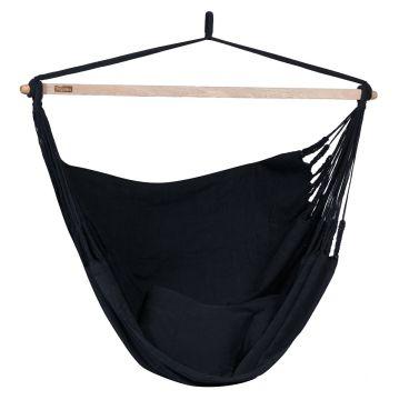 Luxe Black Hangstoel