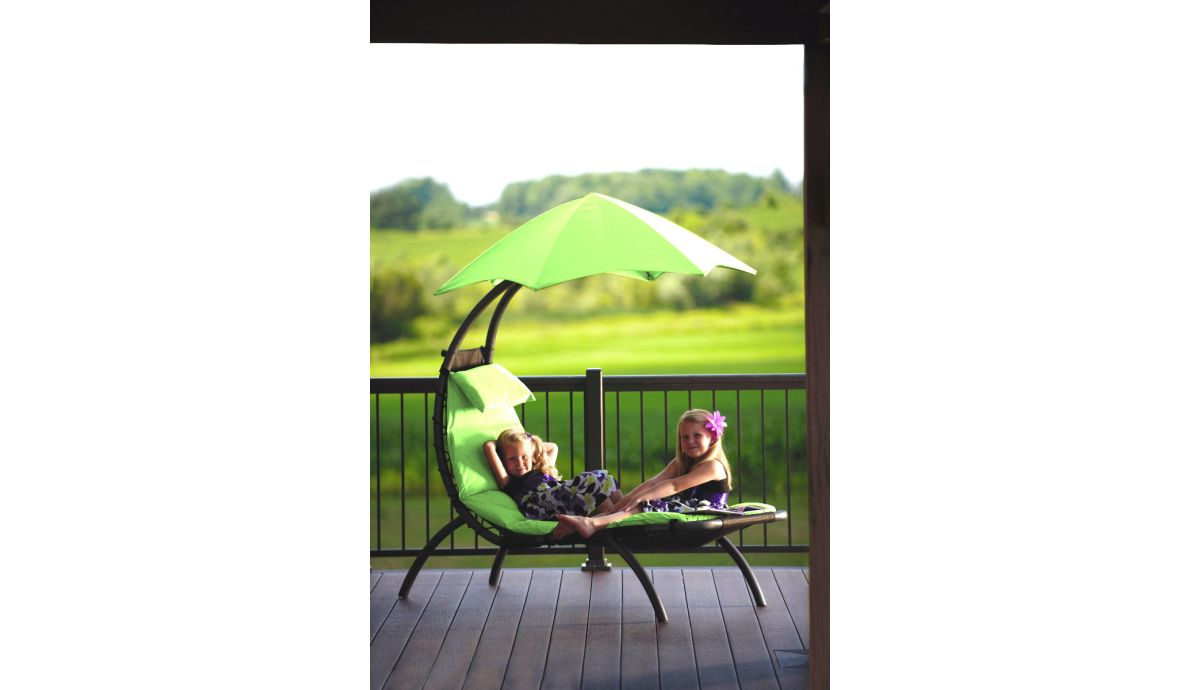 'Dream Lounger' Green Original