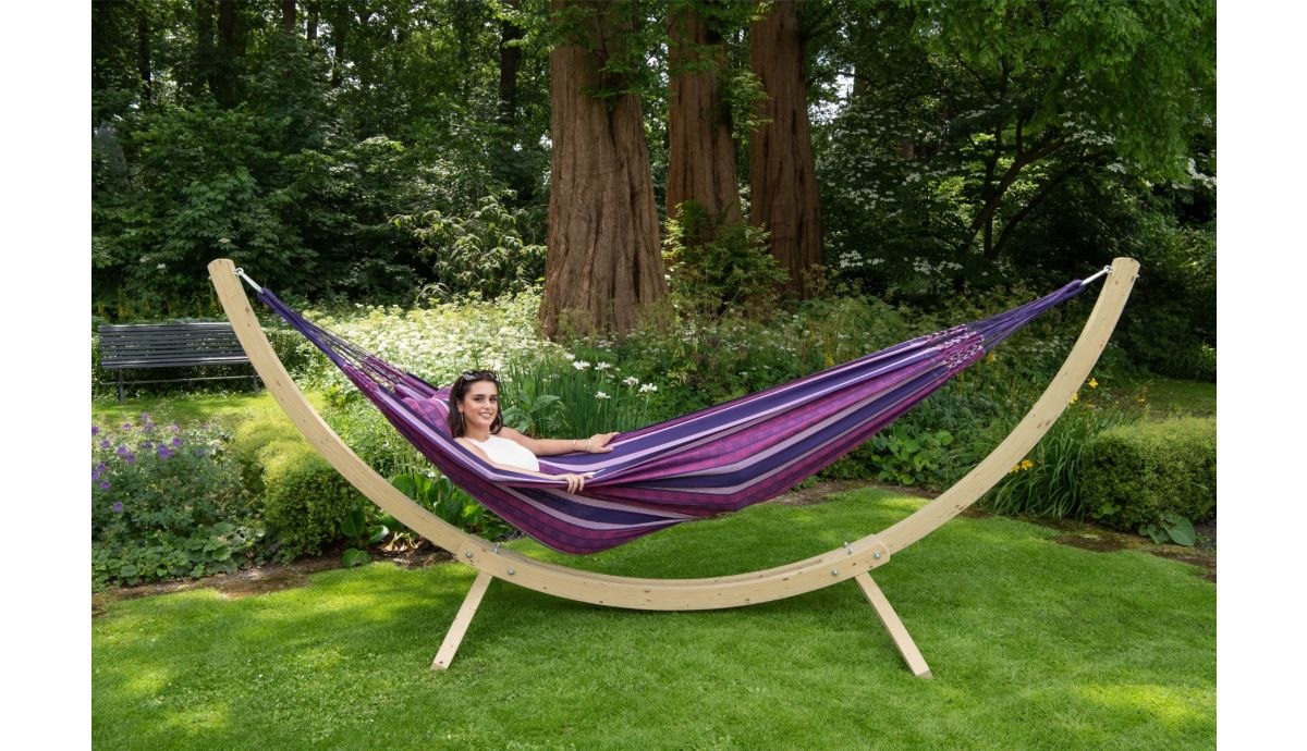'Wood & Chill' Love Tweepersoons Hangmatset