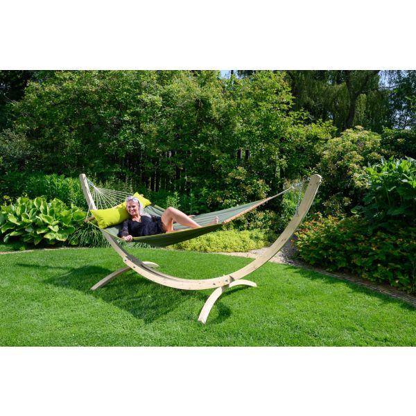 'Wood'  Tweepersoons Hangmatstandaard