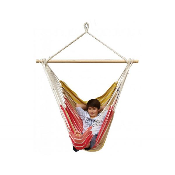 'Tropical' Earth Lounge Hangstoel