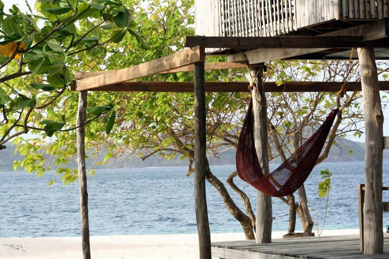 Beste hangmat locatie - Palawan Filipijnen