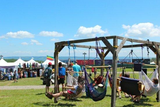 hangstoel lounge festival