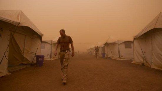 Hitte, zand en stof op kamp Castor Mali