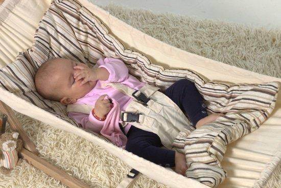 Je baby kan rustig slapen in een veilige babyhangmat