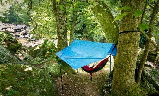 Goed slapen in je hangmat als je gaat wildkamperen