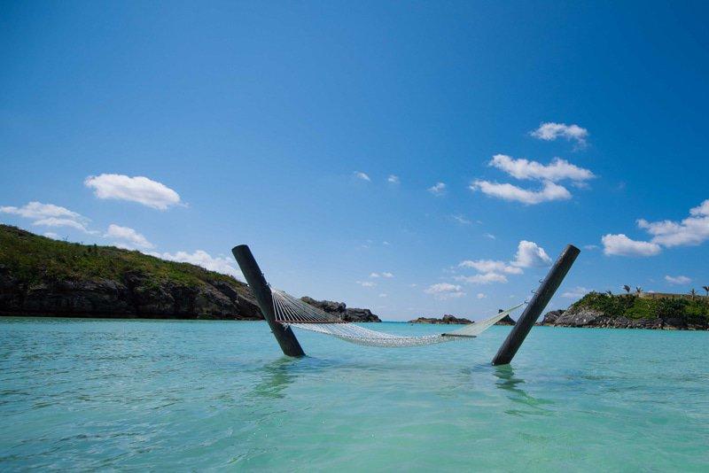 Beste hangmat locatie - Bermuda