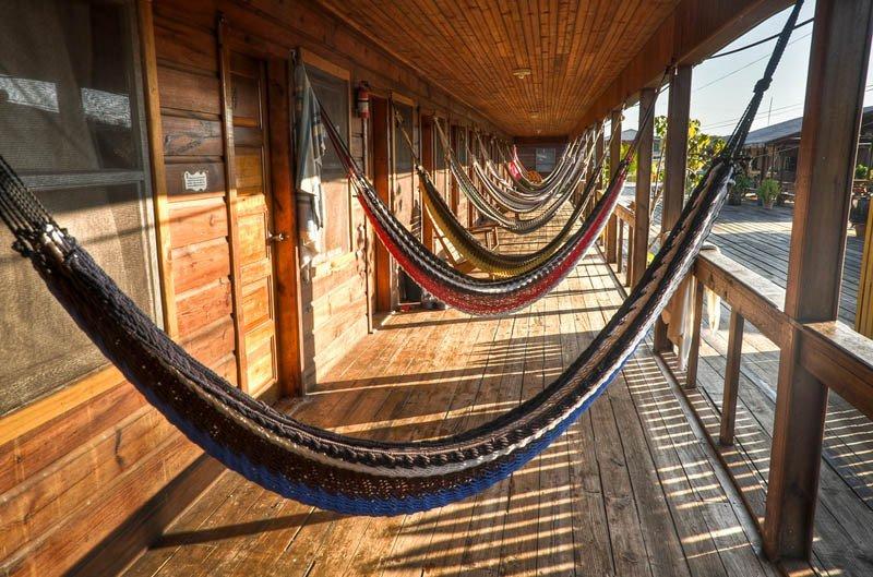 Beste plek voor je hangmat - Cross Creek Honduras