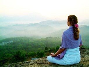 Mediteren in een hangmat